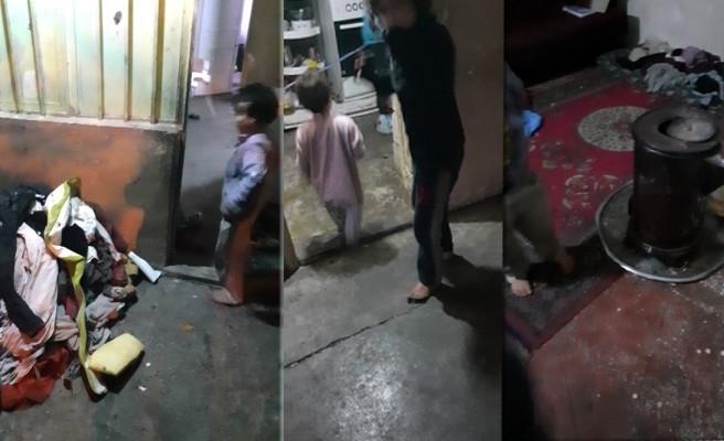 Anneleri tarafından terk edilen 8 çocuğa yardım eli uzatıldı