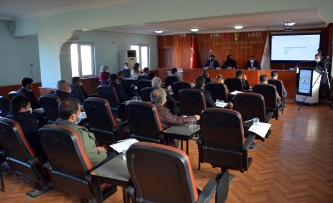 Urfa'nın ilçesinde yeni yılın ilk meclis toplantısı yapıldı