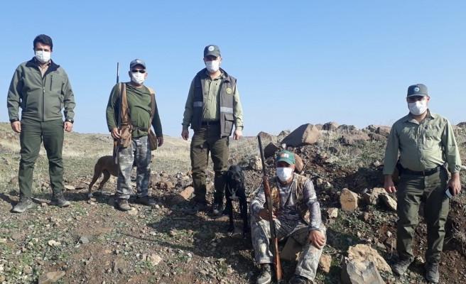 Şanlıurfa'da 15 avcı denetlendi: 1 kişiye ceza