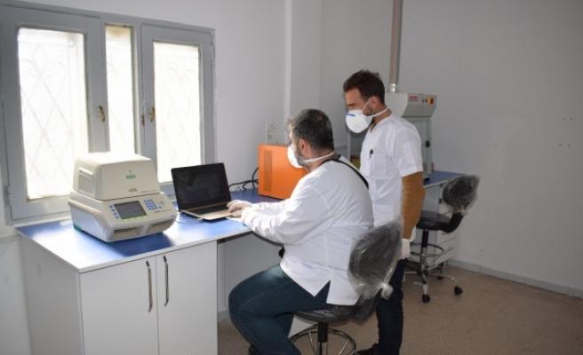 Barış Pınarı bölgesinde PCR test laboratuvarı kuruldu
