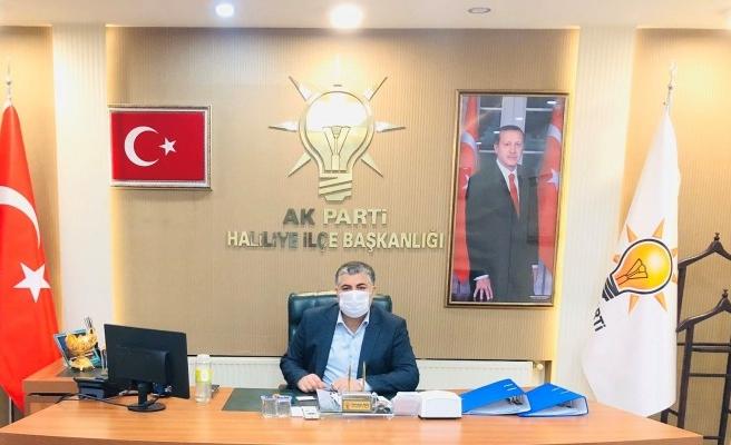 AK Parti Haliliye İlçe Başkanı'ndan flaş adaylık açıklaması!
