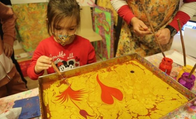 Şanlıurfalı çocuklar sanatla buluşuyor