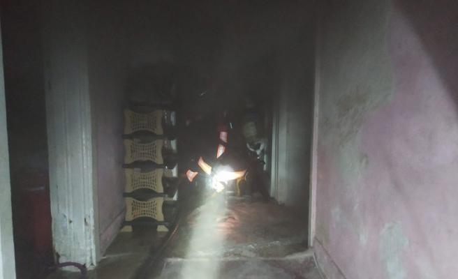 Urfa'da elektrik kontağından çıkan yangın korkuttu