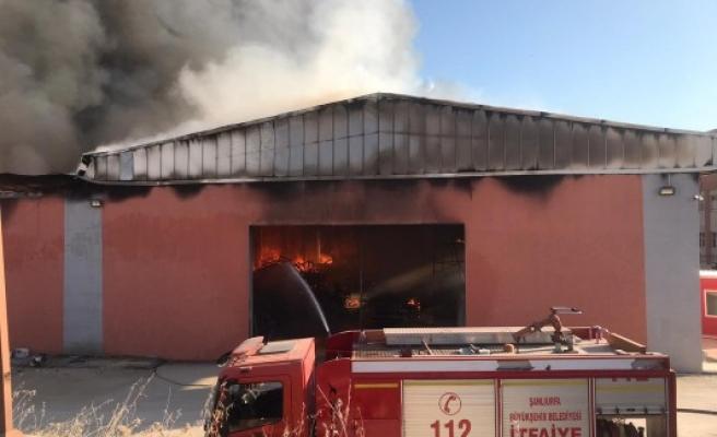 Harran Üniversitesi Osmanbey Kampüsünde yangın! (VİDEO EKLENDİ)