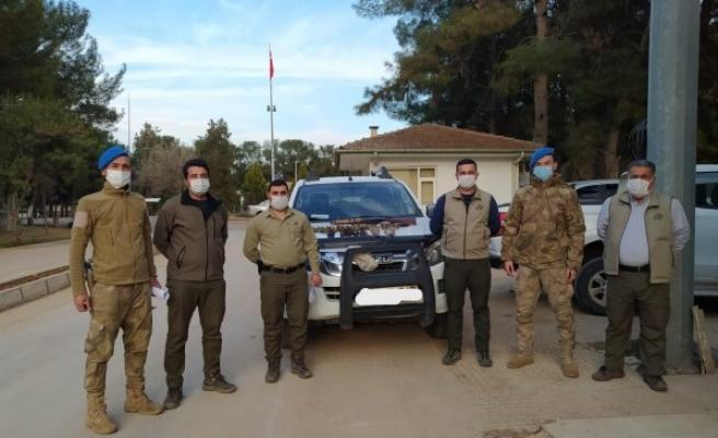TİGEM'de kaçak avcı yakalandı!