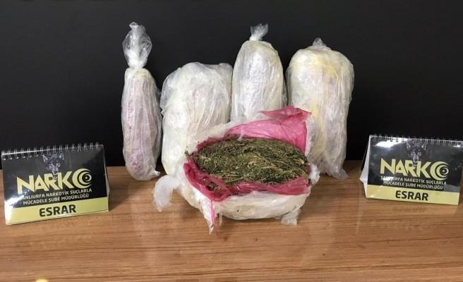 Urfa'da uyuşturucu operasyonu:11 gözaltı