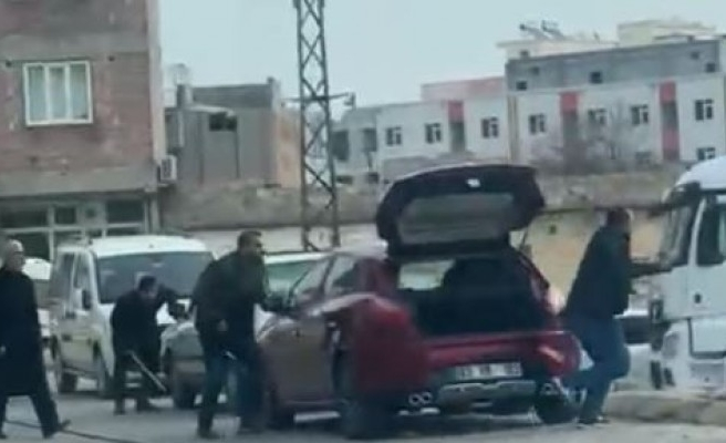 Şanlıurfa'daki silahlı kavga kameraya yansıdı