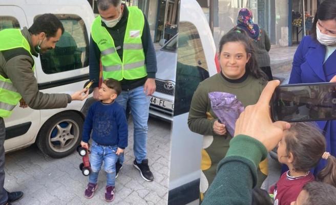 Urfa'da Sevgililer Günü'nde en anlamlı hediyeleşme