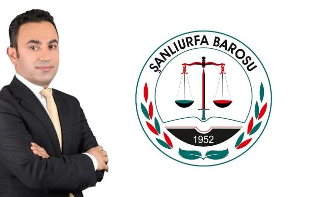 Başkan Adayı Olgun'dan Şanlıurfa Barosu'na çağrı