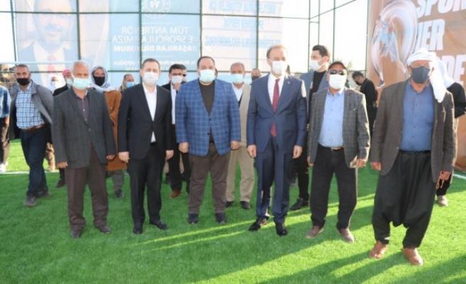 Bakan Kasapoğlu Viranşehir'deki spor tesisinin açılışını yapacak