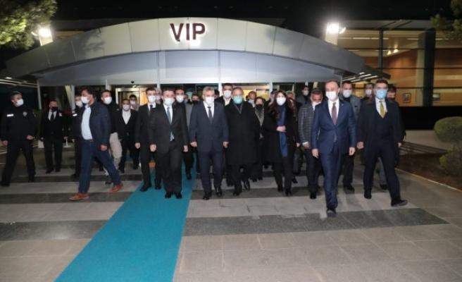 AK Partili Mehmet Özhaseki Şanlıurfa'ya geldi!