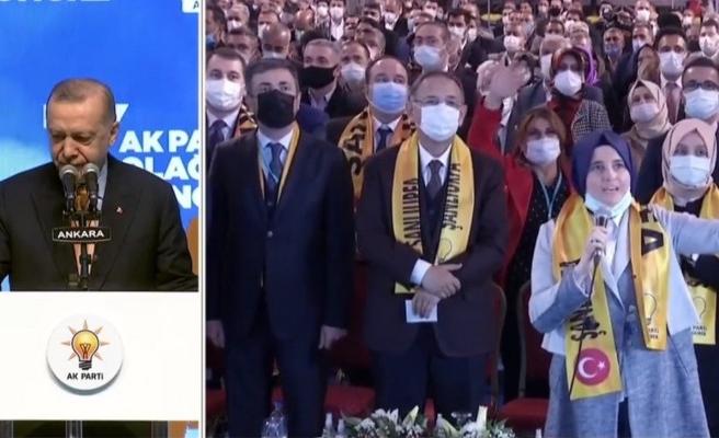 Erdoğan, Şanlıurfa kongresine canlı yayınla bağlandı