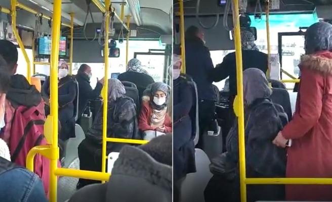 Şanlıurfa'da yaşlı adamla şoför arasında gerginlik yaşandı