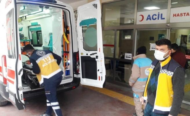 Şanlıurfa'da otomobiller çarpıştı: 2'si çocuk 5 yaralı