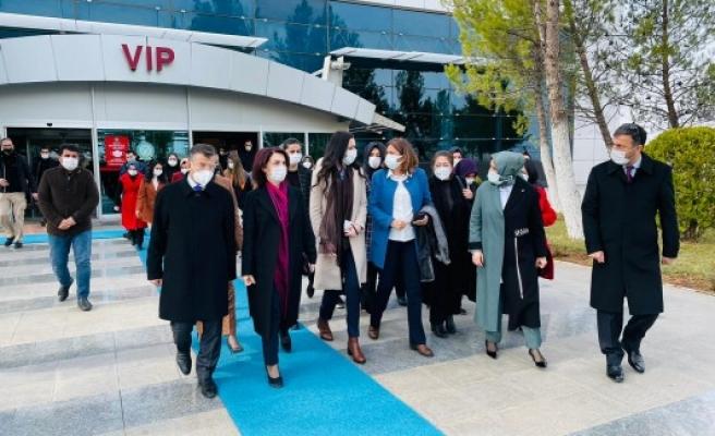 AK Partili üst düzey kadın yöneticiler Urfa'da