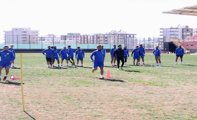 Karaköprüspor Bursa Yıldırımspor maçına hazırlanıyor