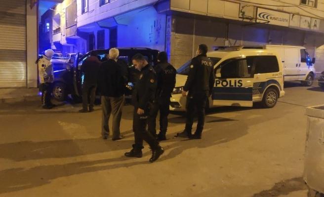 Şanlıurfa'da şüpheliler ve polis arasında kovalamaca