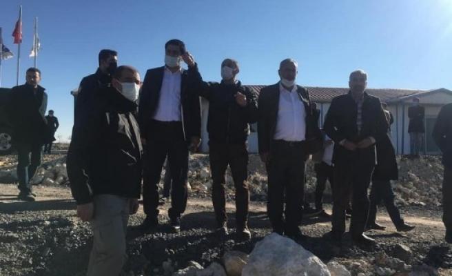 Suruç'un 50 yıllık içme suyu ihtiyacı karşılanacak