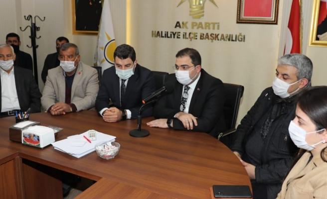 AK Parti Haliliye İlçe Başkanlığı'nda yönetim listesi belli oldu!