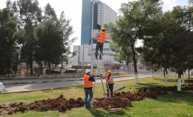 Haliliye'de park çalışmaları devam ediyor