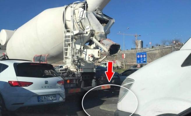 Şanlıurfa'da beton mikseri suçüstü yakalandı
