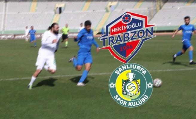 Hekimoğlu Trabzon :6 Şanlıurfaspor :2