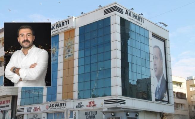AK Parti Şanlıurfa İl Yönetiminde istifa!