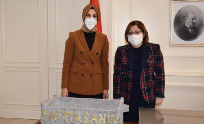 Çakmak, Gaziantep'te temaslarda bulundu