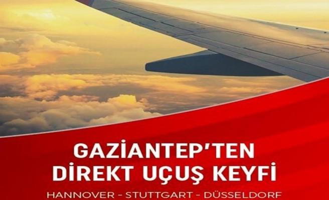 Şanlıurfa'dan Avrupa'ya uçuş  Gaziantep kadar yakın