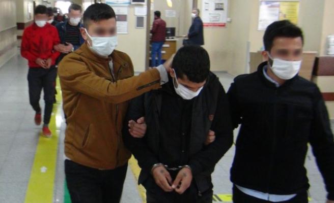 Şanlıurfa'da yakalanan 3 terörist adliyeye sevk edildi