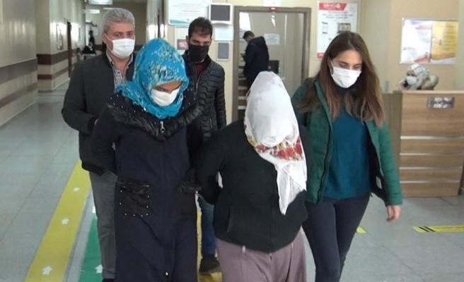 Şanlıurfa'da hırsızlık şüphelisi 2 kadın yakalandı