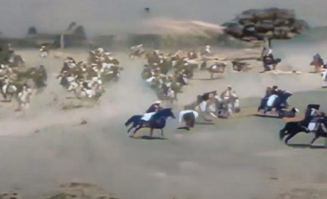 Şanlıurfa'nın kurtuluş savaşı görüntüleri renklendirildi