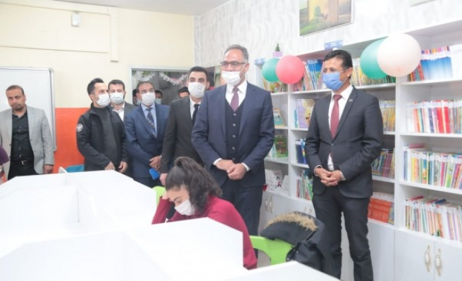 Eyyübiye'de 8 kütüphanenin açılışı gerçekleşti