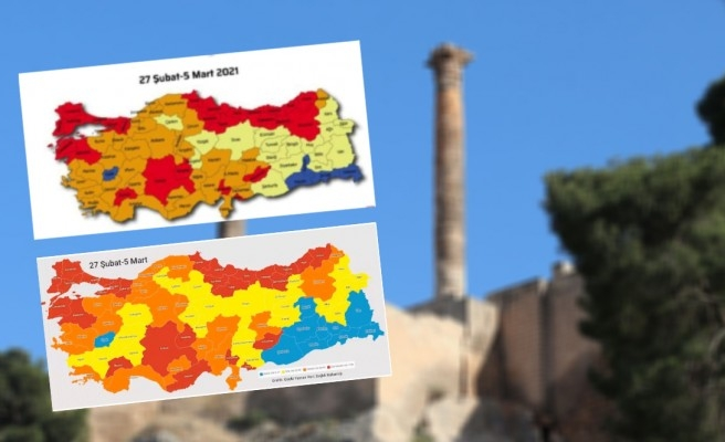Urfa'nın haritadaki rengi değişti mi? Açıklama geldi