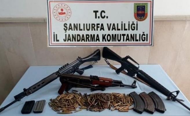 Siverek'te silah kaçakçılığı operasyonu: 1 gözaltı