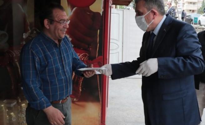 Şanlıurfa'da pandemi  salgınıyla mücadele sürüyor