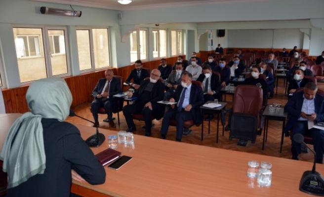 Siverek Belediyesinde birimler arası koordinasyon toplantısı yapıldı