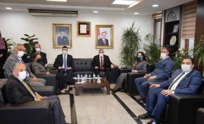 AK Parti Genel Merkez Gençlik Kolları Başkanından Beyazgül'e ziyaret!