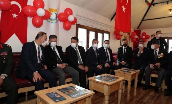 Haliliye'de Şehit Gazi Evi törenle hizmete sunuldu