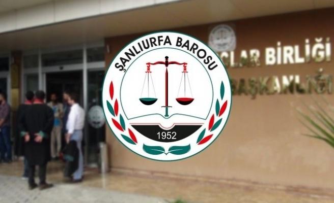 Şanlıurfa'da avukatlar duruşmalara katılmayacak