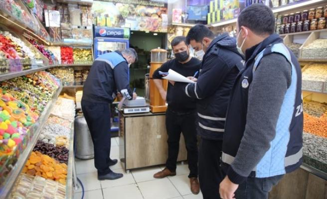 Haliliye'de pandemi denetimleri sürüyor