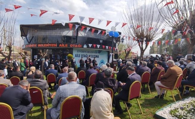 Eyyübiye Belediyesi Aile Otağı'nın açılışı yapıldı
