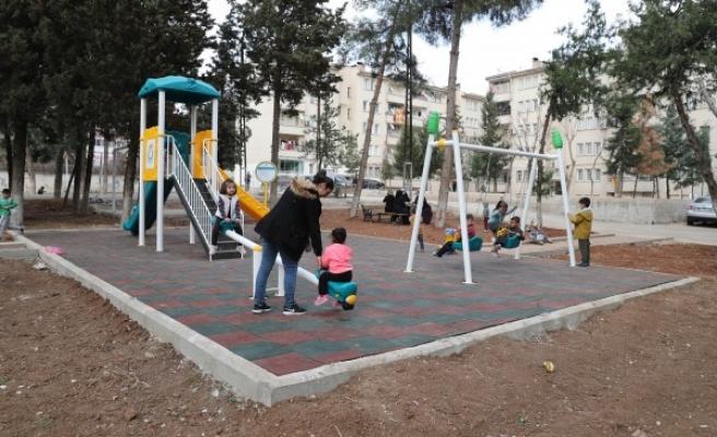 Haliliye'de mahalle sakinlerinin park talebi yerine getirildi