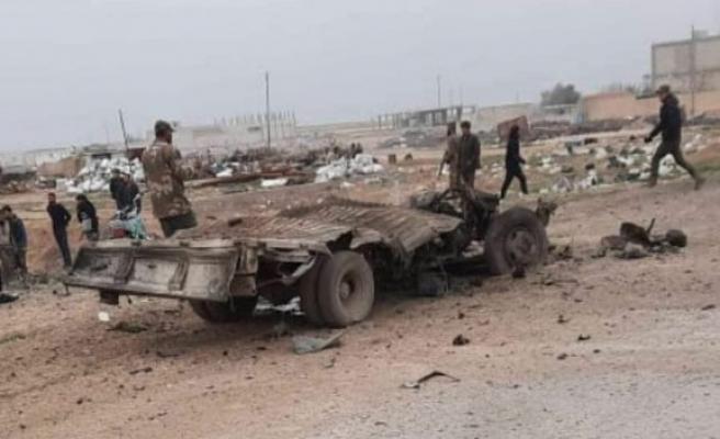 Rasulayn'da bomba yüklü araç infilak etti