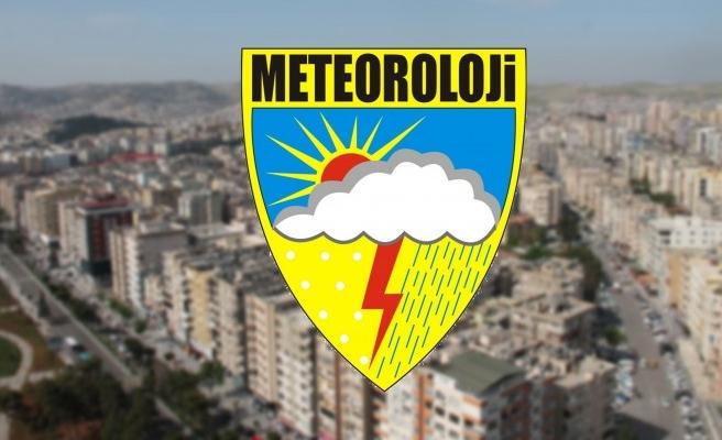 Meteoroloji Genel Müdürlüğü'nden Şanlıurfa'ya uyarı