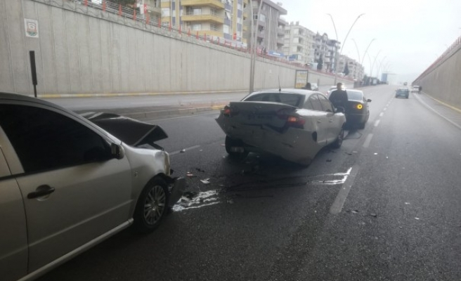 Şanlıurfa'da zincirleme trafik kazası!