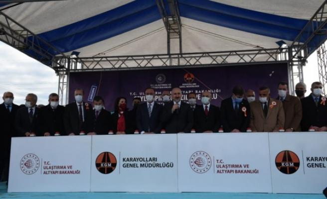 Ceylanpınar-Kızıltepe bağlantı yolunun temeli atıldı (EK)