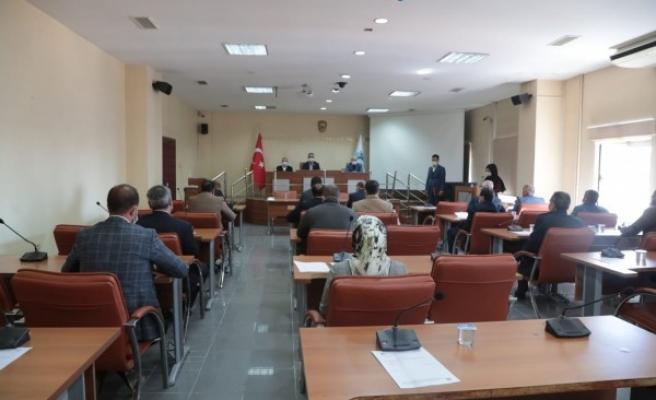 Eyyübiye Belediye Meclisi Olağanüstü toplandı