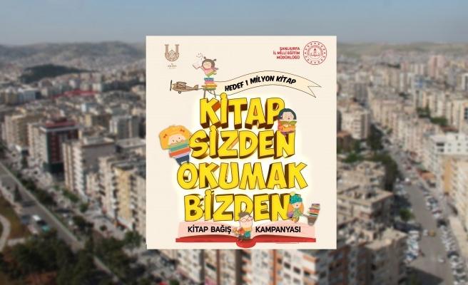 Şanlıurfa'da kitap bağışı kampanyası başlatıldı