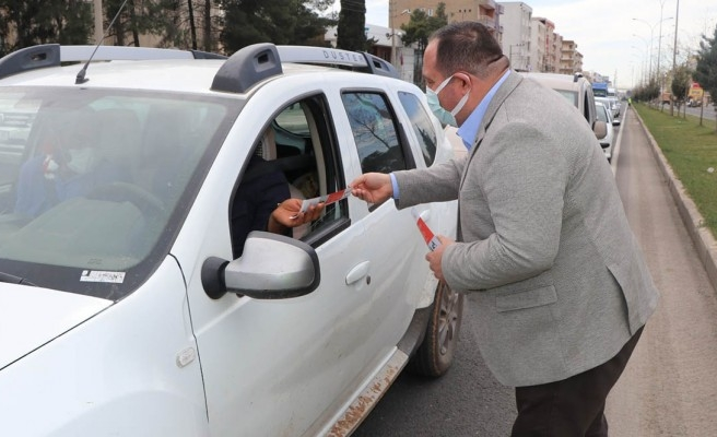 Viranşehir'de 'kırmızı çizgi' uygulaması